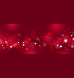 valentines day and love background design vector image
