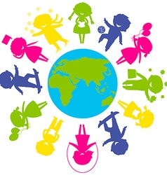 ChildrenWorld vector image vector image