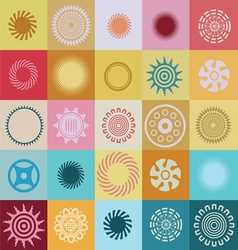 Colors and miracles pattern vector