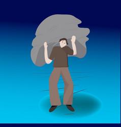 Heavy burden vector