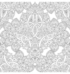 Ethnic line seamless pattern vector image vector image