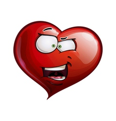 Heart Faces Happy Emoticons What The vector image vector image