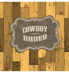 wild west background vector image vector image