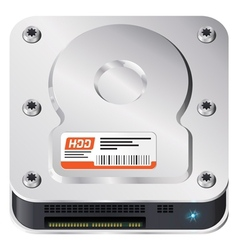 Hard disk vector image vector image