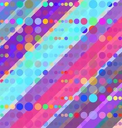 Abstract Colorful Retro Background vector image
