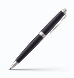 classic ballpoint pen vector image