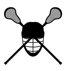 lacrosse 08 vector image