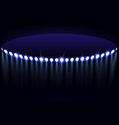 stadium lights vector image