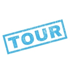 Tour Rubber Stamp vector