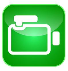 video camera app icon vector image