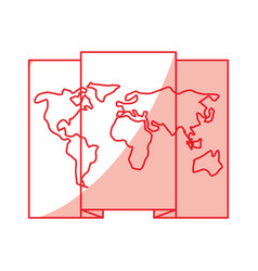 World map location vector