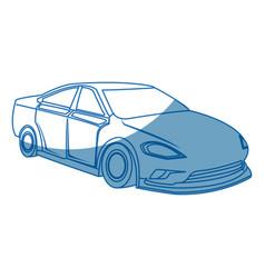 Car sport expensive luxury modern vector
