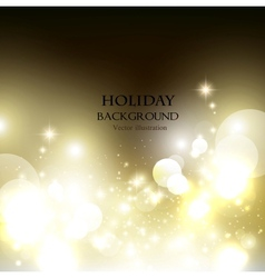 Elegant Christmas shining background with vector image vector image