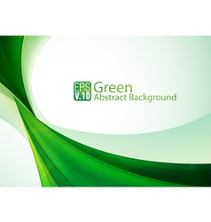 green abstract background 3 vector image