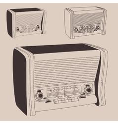 radiogramophone vector image vector image