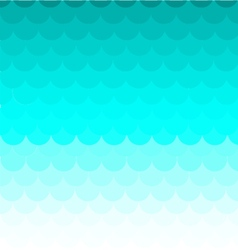 Background fish scales pattern blue vector
