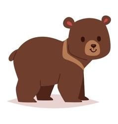 Cartoon bear haracter vector