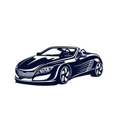 Sport automobile vector image