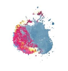 Watercolor composition vector image
