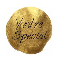 Youre Special Banner vector image
