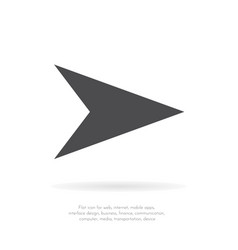 arrows collection for your web site design logo vector image