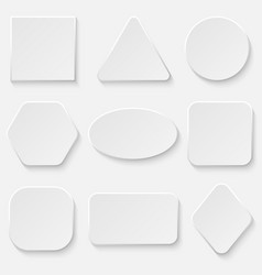 button bannerr set vector image