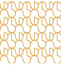 circle seamless pattern vector image