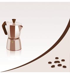 Coffee maker vector image