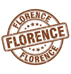 Florence stamp vector