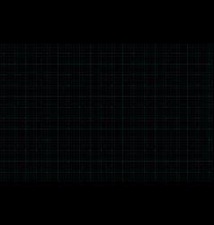 futuristic digital dark blue background with grid vector image