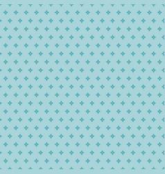 Geometric stylized blue star pattern vector