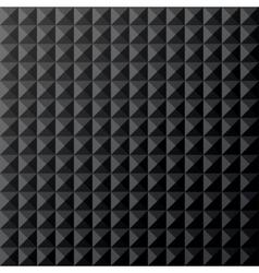 Geometrical black seamless pattern vector image