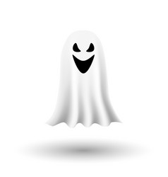 Ghosts on transparent background eps 10 vector