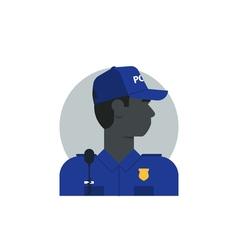 People policeman 4 vector image
