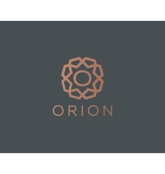 Premium letter O logo icon design Luxury vector