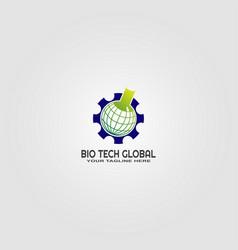 Science logo template logo technology vector