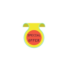 Offer Icon vector image