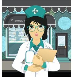 Pharmacy vector image vector image