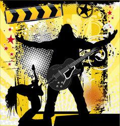 urban rock vector image