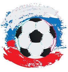 Football ball and strokes vector