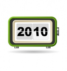 happy new year 2010 vector image vector image