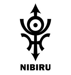 Astrology rogue planet nibiru vector