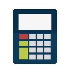 Calculator gadget technology design vector
