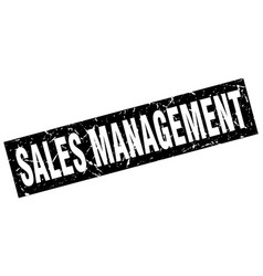 Square grunge black sales management stamp vector