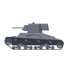 Tank infantry vickers mke world war 2 britain vector