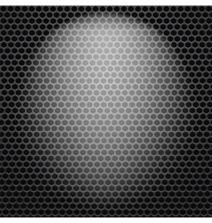 Dark Iron Perforated Background vector image