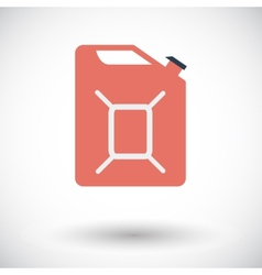 Gas Containers icon vector image vector image