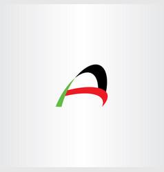 a logo letter sign logotype element vector image