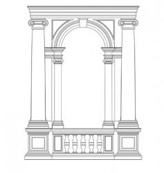 Architectural element vector