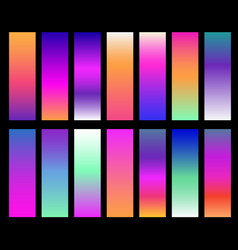colorful gradients screen gradient covers vector image